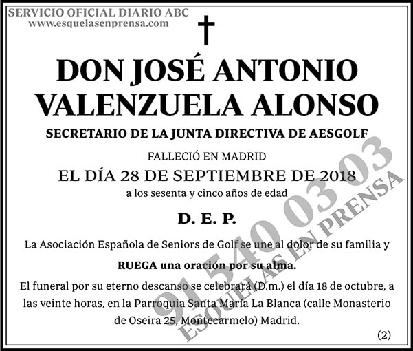 José Antonio Valenzuela Alonso